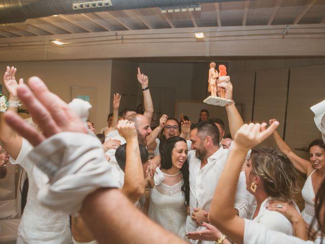La boda de Yoly y Vane en L' Ametlla De Mar, Tarragona 73
