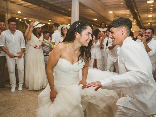 La boda de Yoly y Vane en L' Ametlla De Mar, Tarragona 77