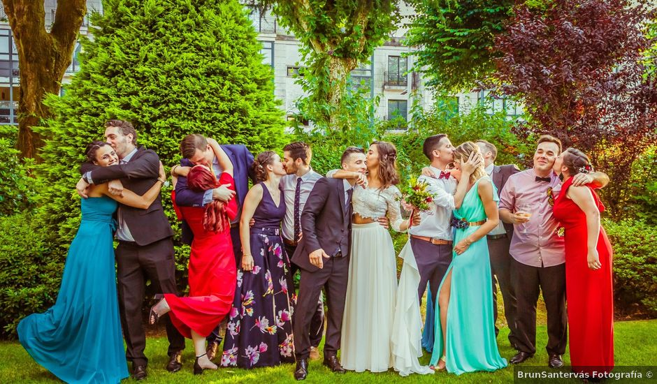 La boda de Héctor y Antía en Mondariz (Balneario), Pontevedra