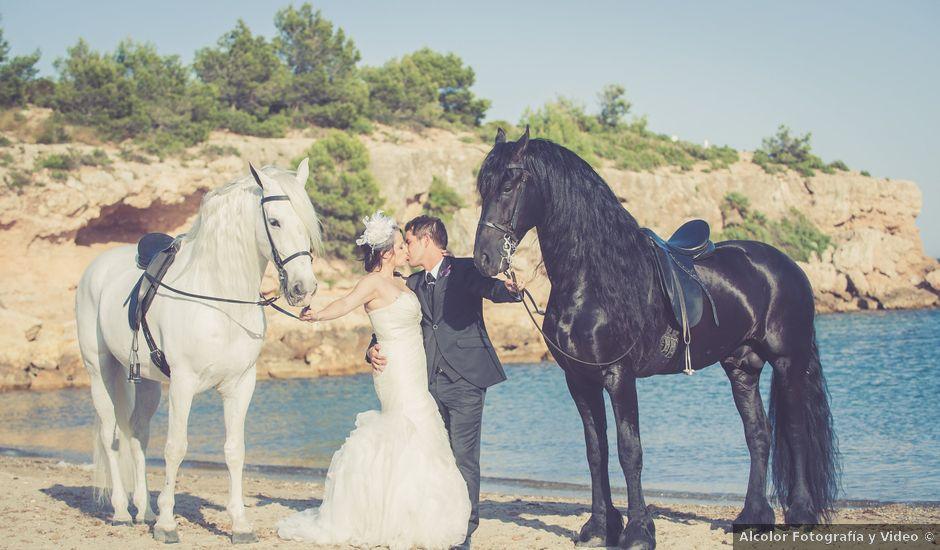 La boda de Alejandro y Sonia en L' Ametlla De Mar, Tarragona