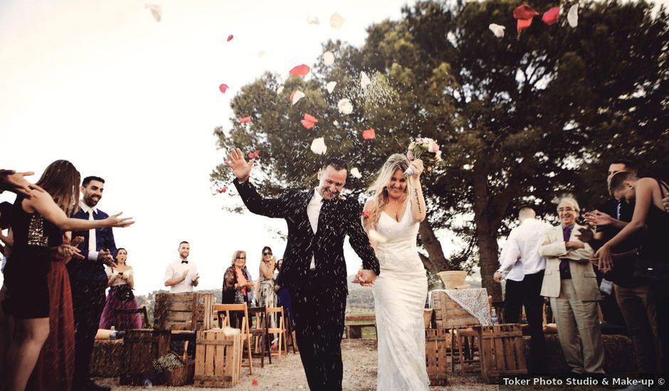 La boda de David y Mireia en La Bisbal Del Penedes, Tarragona