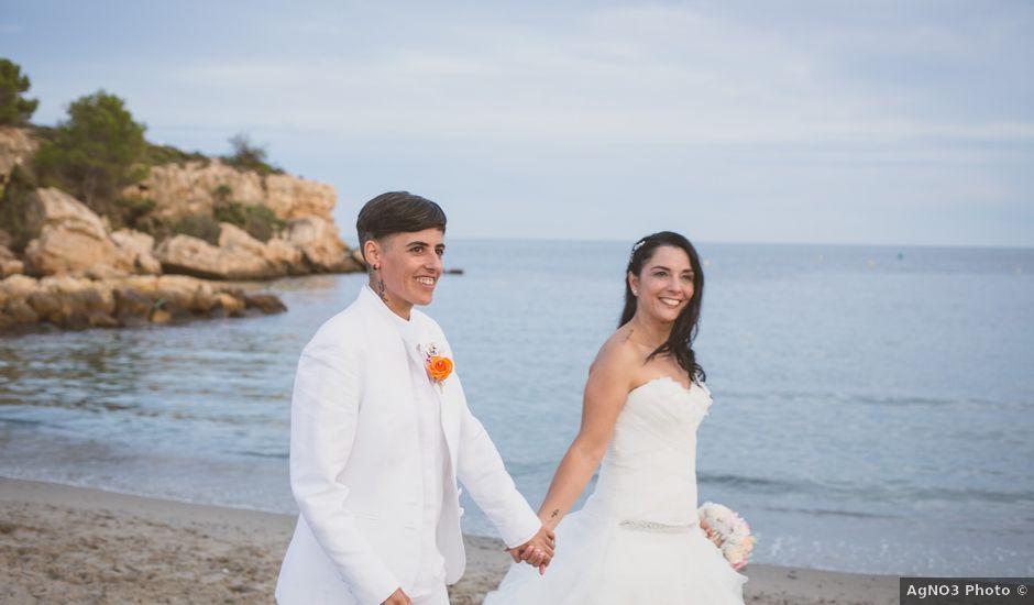 La boda de Yoly y Vane en L' Ametlla De Mar, Tarragona