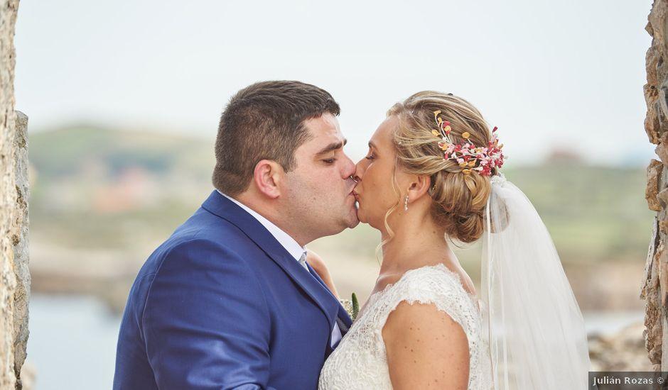 La boda de Claudia y Rubén en Suances, Cantabria
