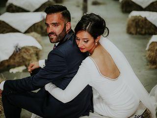 La boda de Paula y Sabia