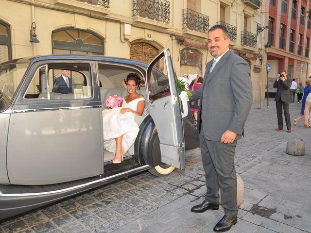 La boda de Alberto y Adriana  en Zaragoza, Zaragoza 8