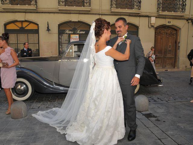La boda de Alberto y Adriana  en Zaragoza, Zaragoza 9
