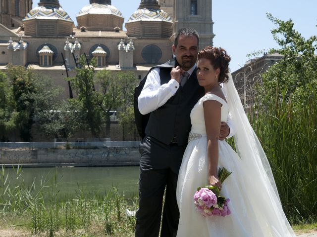 La boda de Alberto y Adriana  en Zaragoza, Zaragoza 2