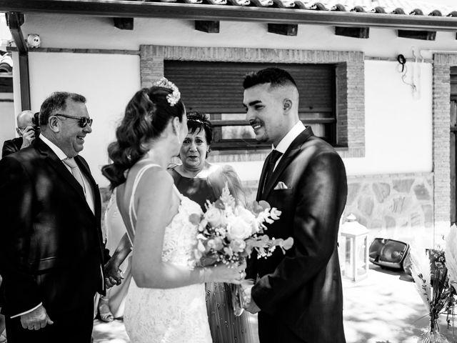 La boda de Lydia y Juanjo en Torre De Juan Abad, Ciudad Real 16
