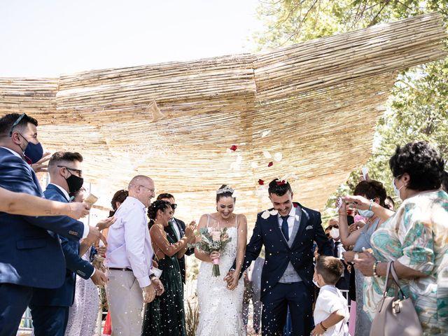 La boda de Lydia y Juanjo en Torre De Juan Abad, Ciudad Real 21
