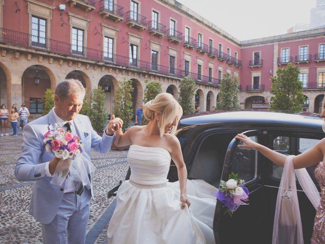La boda de Valentín y Ingil en Gijón, Asturias 4