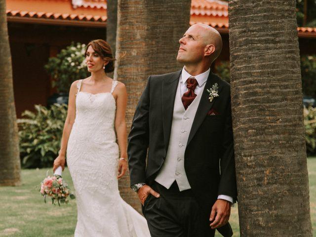 La boda de Diego y Raquel en Puerto De La Cruz, Santa Cruz de Tenerife 2
