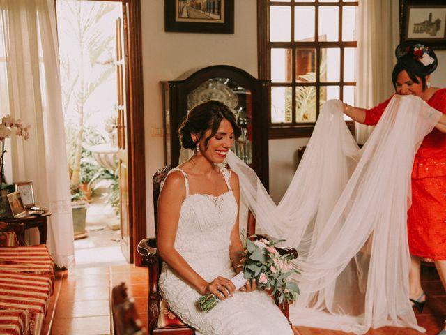 La boda de Diego y Raquel en Puerto De La Cruz, Santa Cruz de Tenerife 20