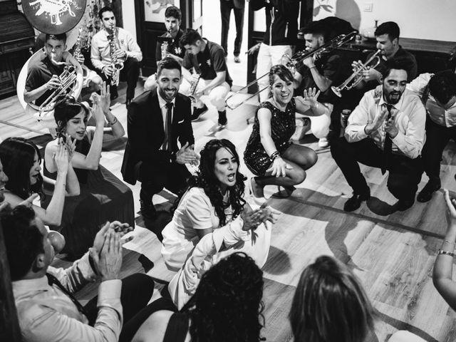 La boda de Paco y Laura en Burgo De Osma, Soria 129