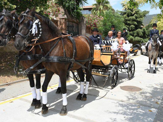 La boda de Miriam y Félix en Vilassar De Dalt, Barcelona 1