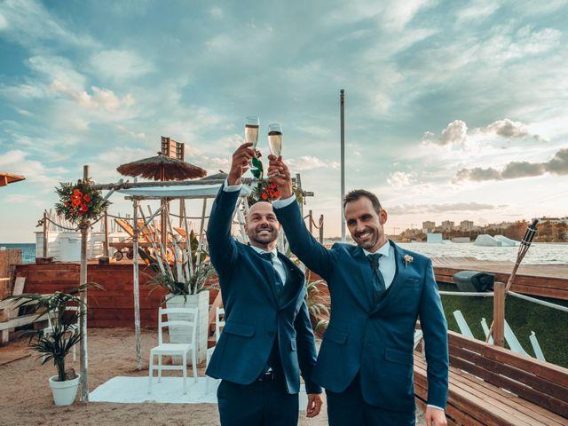 La boda de Carlos y Cristian