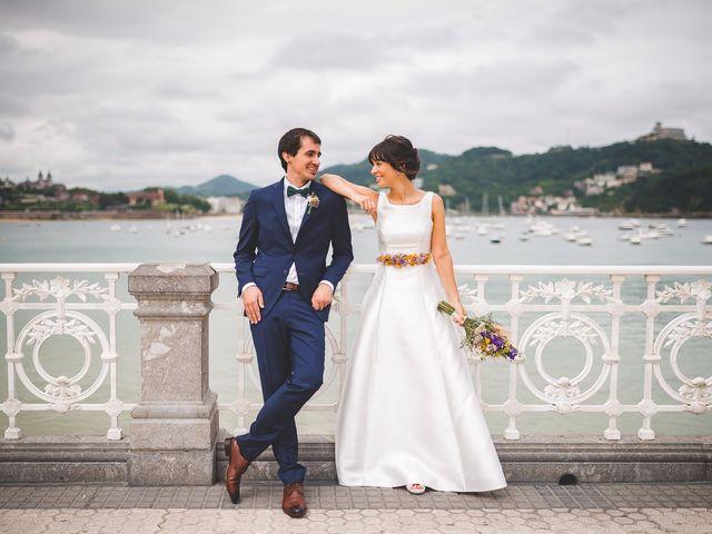 La boda de Lide y Ander