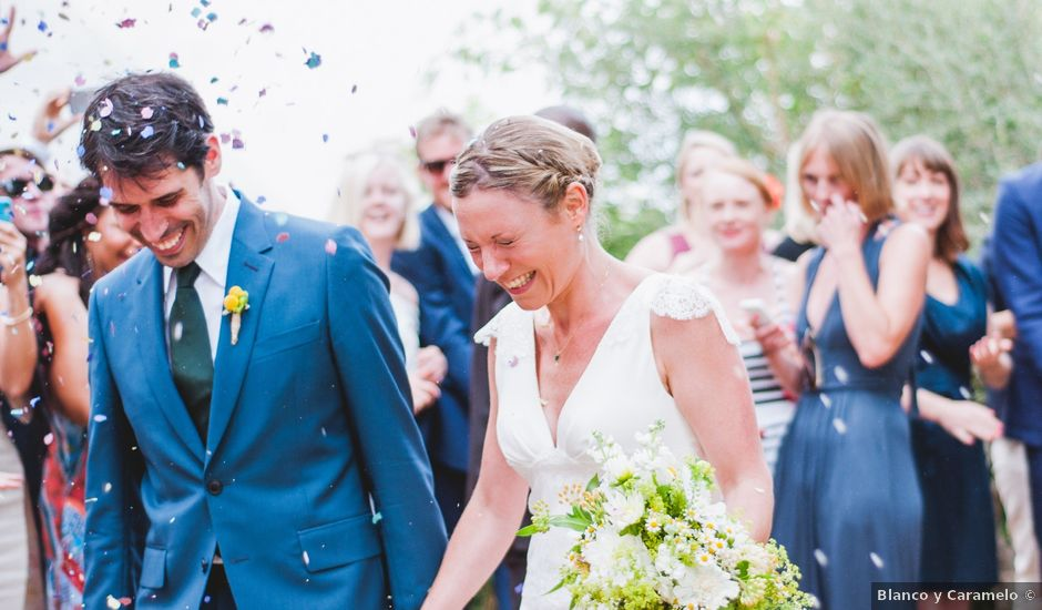 La boda de Tom y Anna en Riudecolls, Tarragona