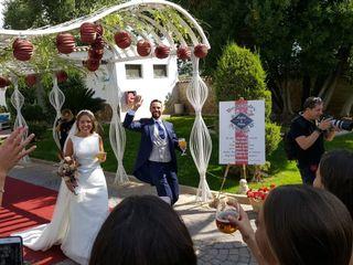 La boda de Silvia y Pedro José