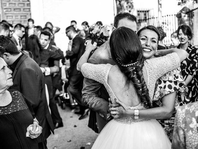 La boda de Julio y Paula en Arganda Del Rey, Madrid 43