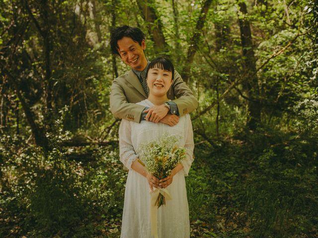 La boda de Yoshinobu y Rio