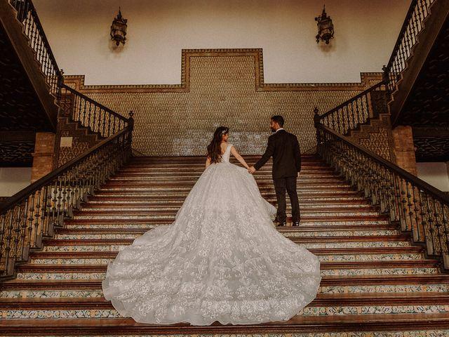 La boda de Ramin y Aida en Sevilla, Sevilla 1