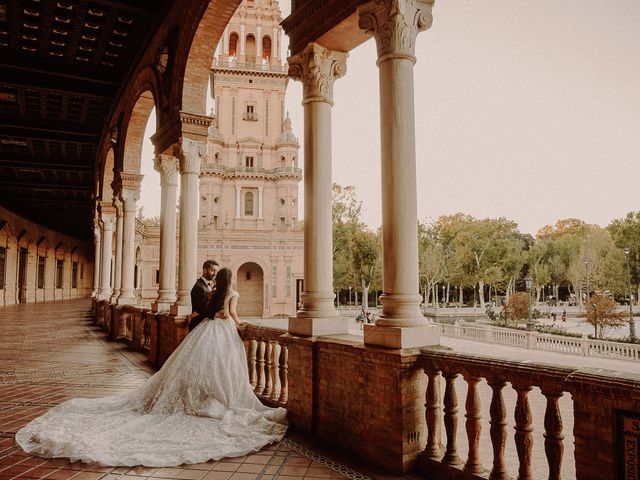 La boda de Ramin y Aida en Sevilla, Sevilla 200