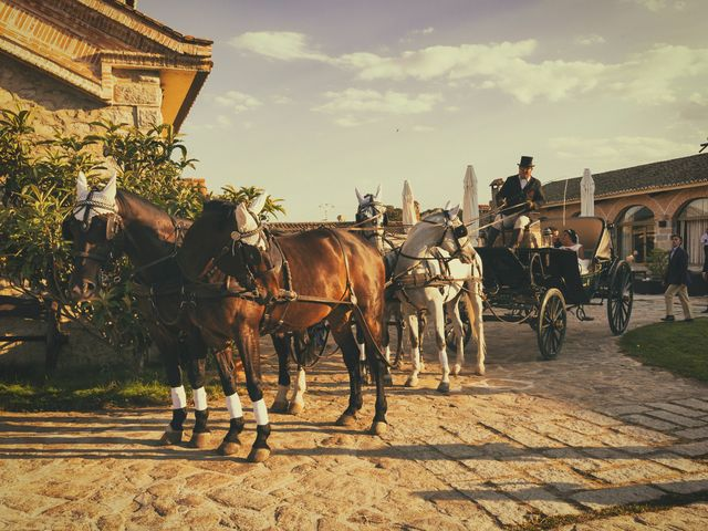 La boda de Tomás y Ana en Mangiron, Madrid 13