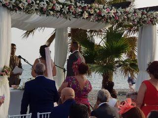 La boda de Cintia y Fali 1