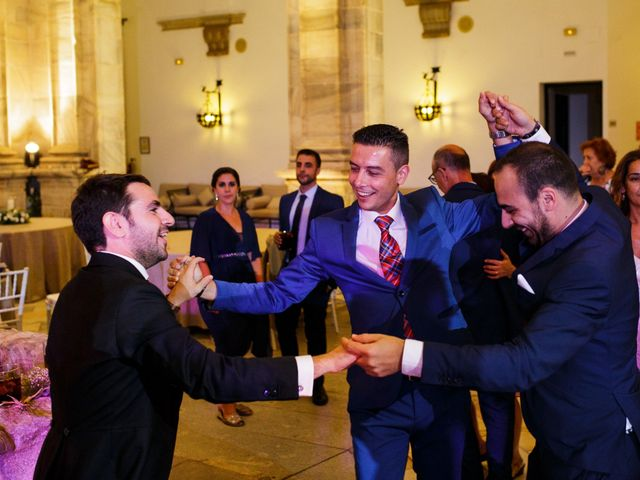 La boda de Alberto y Carmen en Zafra, Badajoz 78