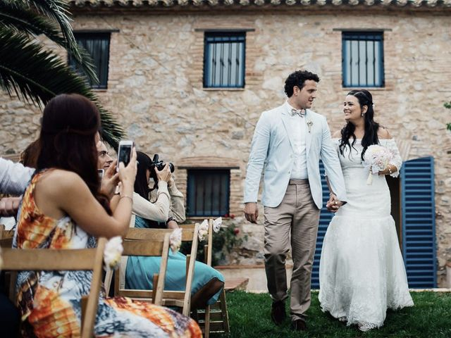 La boda de Miguel y Naarah en Alforja, Tarragona 30