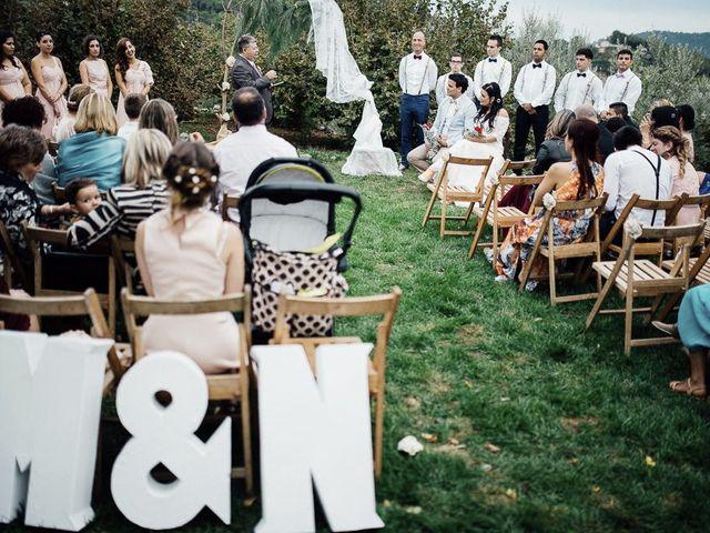 La boda de Miguel y Naarah en Alforja, Tarragona 34