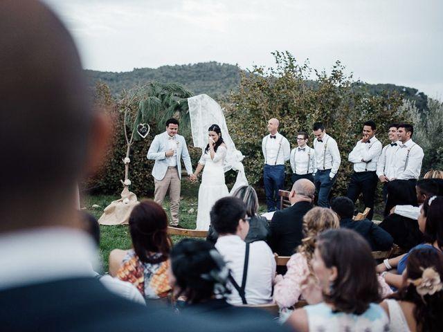 La boda de Miguel y Naarah en Alforja, Tarragona 42