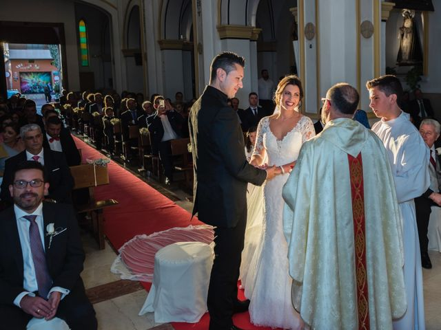 La boda de Ismael y Adela en El Raal, Murcia 5