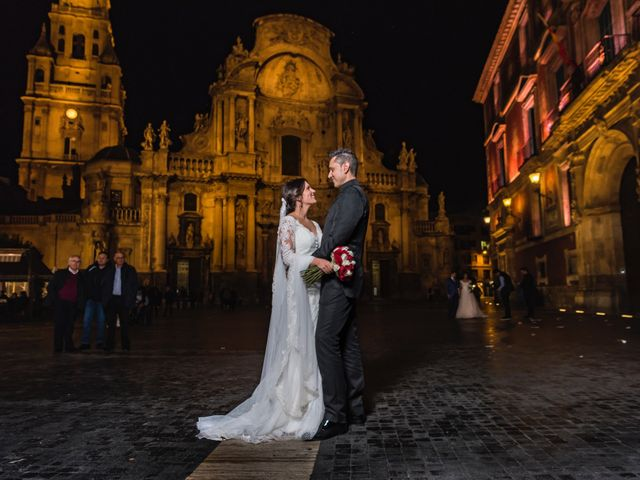 La boda de Ismael y Adela en El Raal, Murcia 8