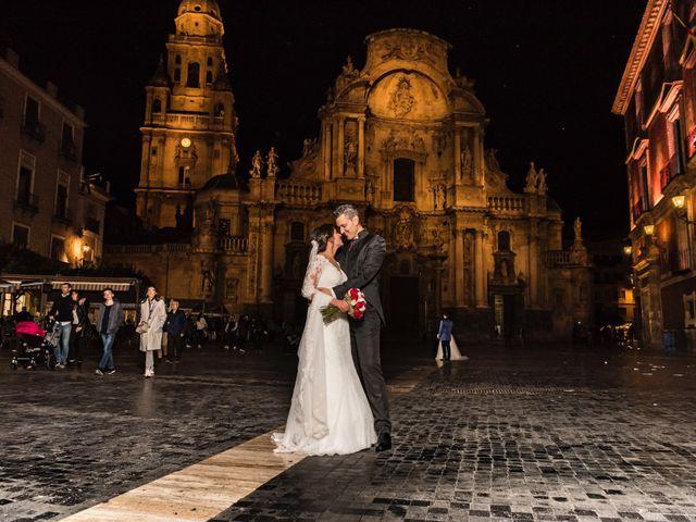 La boda de Ismael y Adela en El Raal, Murcia 9