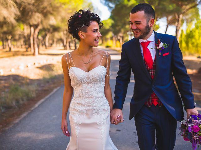 La boda de Estela y Víctor