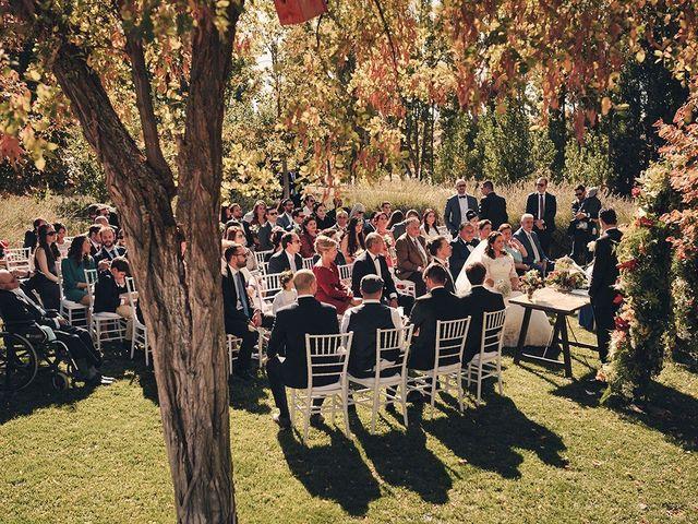 La boda de Juan Manuel  y Joëlle  en Hoyuelos, Segovia 1