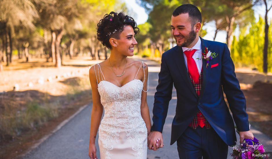 La boda de Víctor y Estela en Simancas, Valladolid