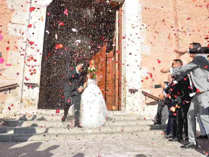 La boda de Miriam y Santi