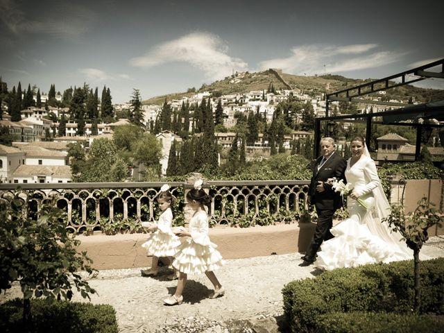 La boda de Luismi y Silvia en Granada, Granada 1