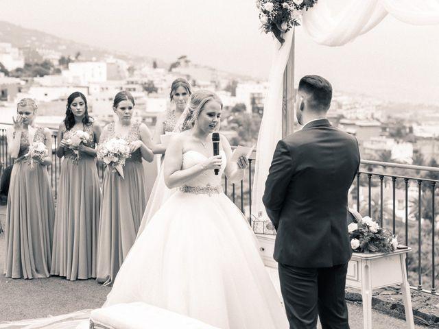 La boda de Bryan y Vienna en La Victoria De Acentejo, Santa Cruz de Tenerife 80