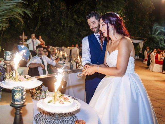 La boda de Alberto y Gemma en Crevillente, Alicante 71