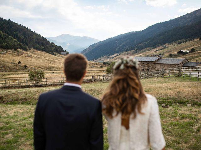 La boda de Ramón y Lidia en Os De Civis, Lleida 2
