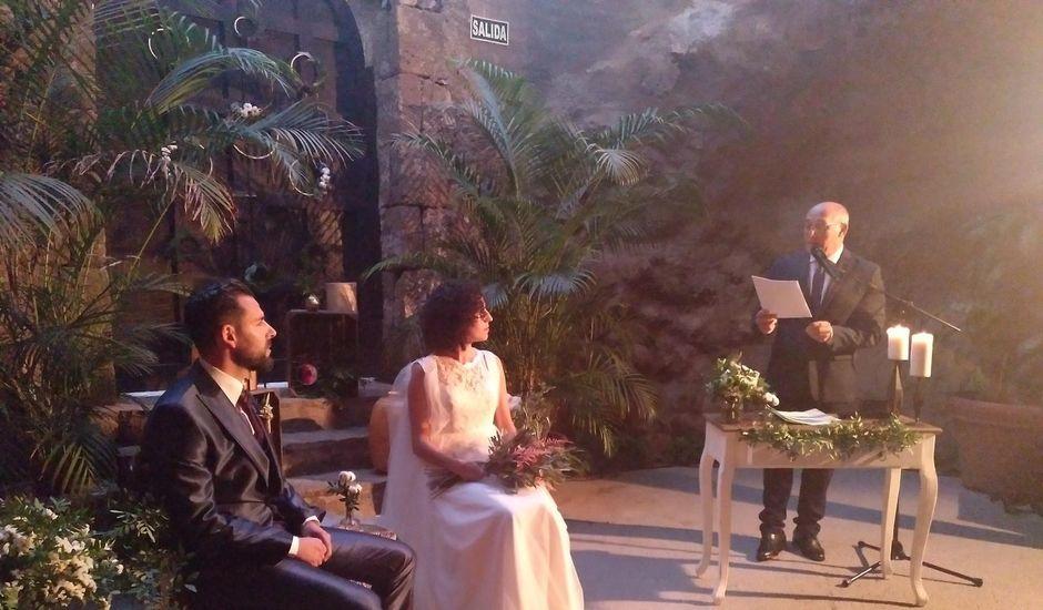 La boda de Ayoze y Raquel en Anzo, Las Palmas