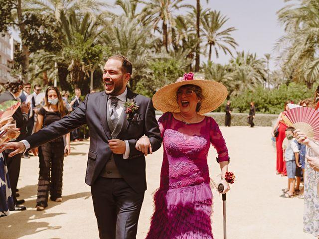 La boda de Francis y María en Elx/elche, Alicante 34