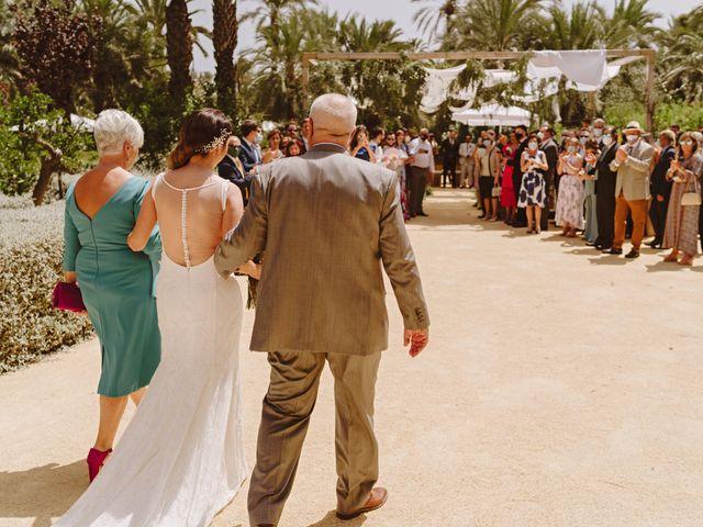 La boda de Francis y María en Elx/elche, Alicante 35