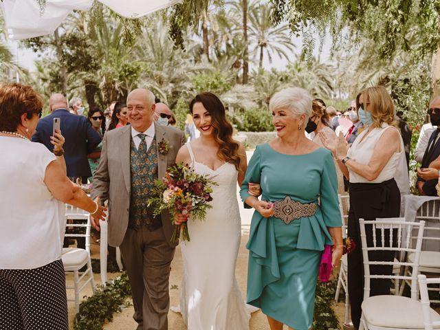 La boda de Francis y María en Elx/elche, Alicante 36