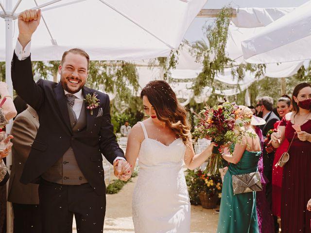 La boda de Francis y María en Elx/elche, Alicante 60