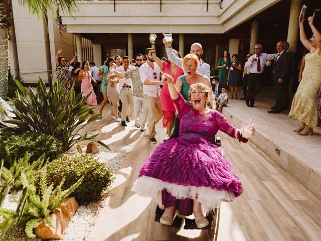 La boda de Francis y María en Elx/elche, Alicante 85