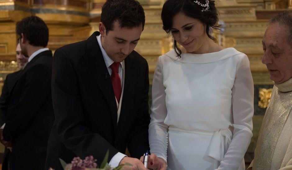 La boda de Adam y Blanca en Zaragoza, Zaragoza